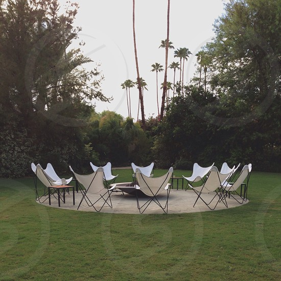 Circle time in Palm Springs. photo