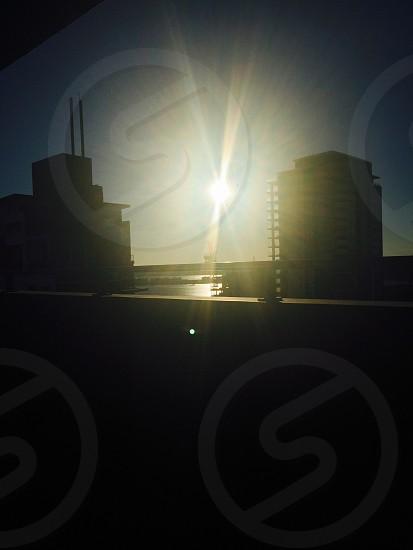 Perth at sundown  photo