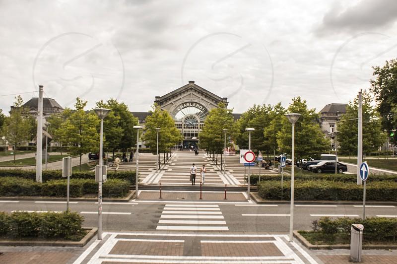 Charleroi train Station Belgium photo