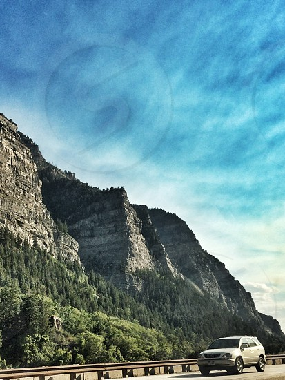 Part of Provo Canyon. photo