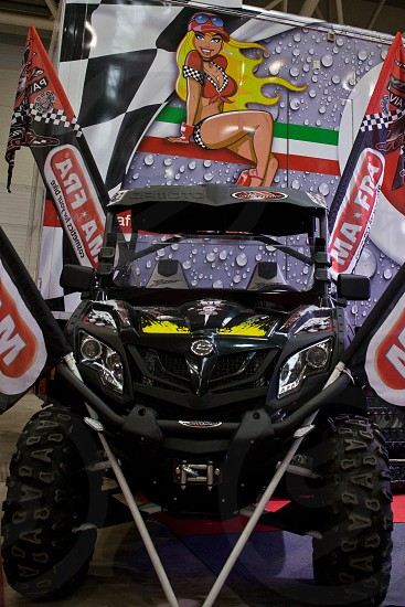 Motoday paddock girl moto metal carbon show exposition rome  photo