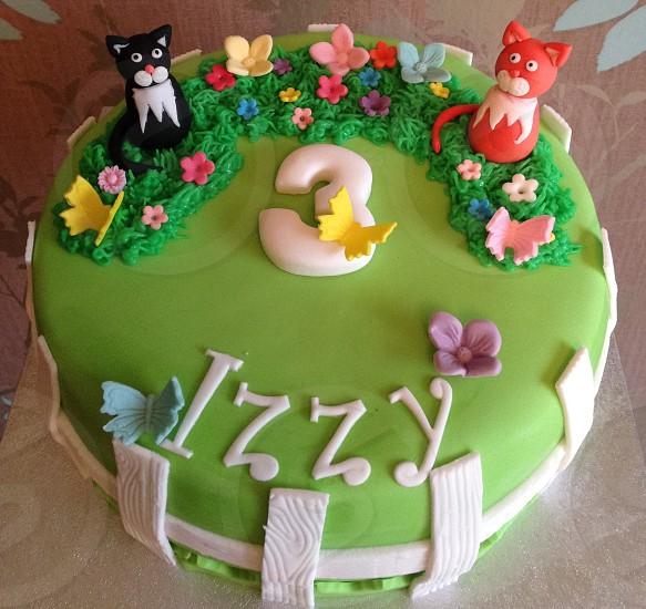 Birthday cake 😋😋 photo