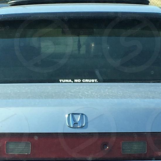 Honda Tuna tuna no crust car funny photo