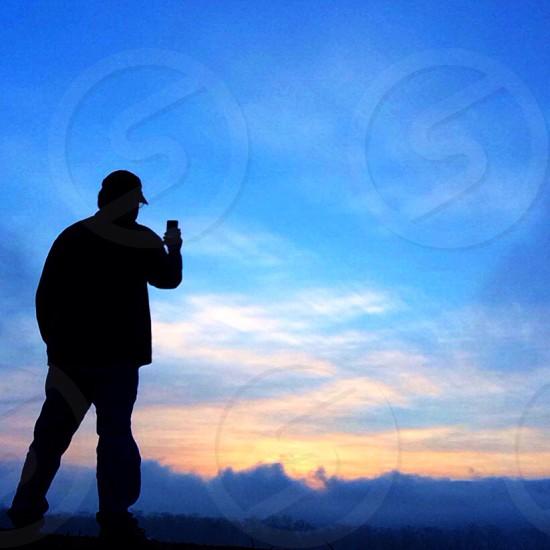 Capturing the sunrise photo
