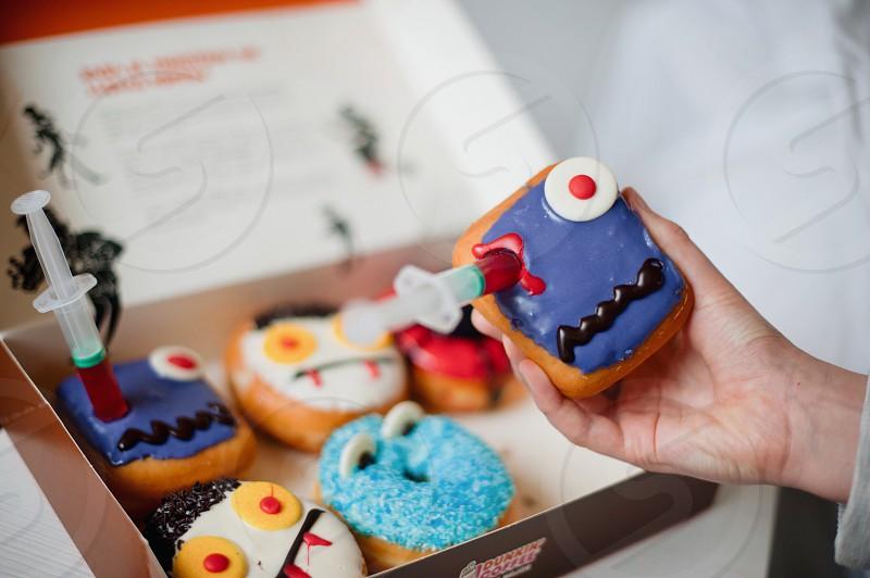 halloween donuts photo