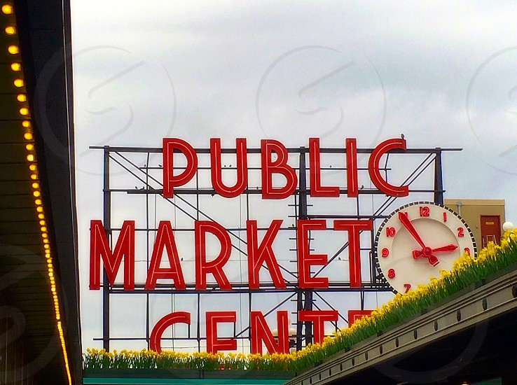 Pike market Seattle  photo