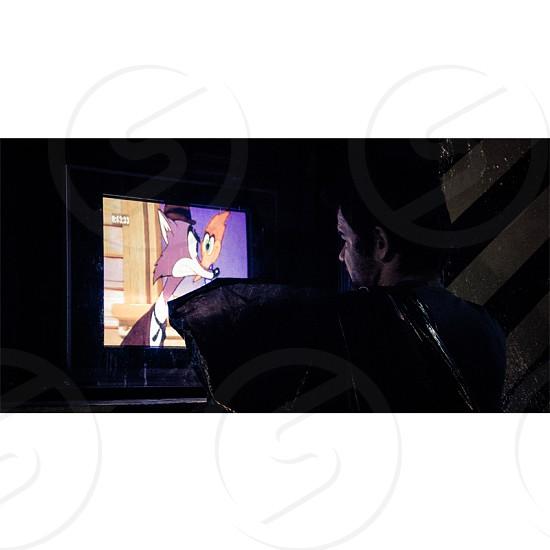 #tv #woodywoodpecker #lamp #society photo