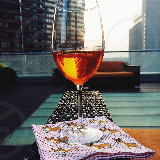 Aperol spritz at nyc photo
