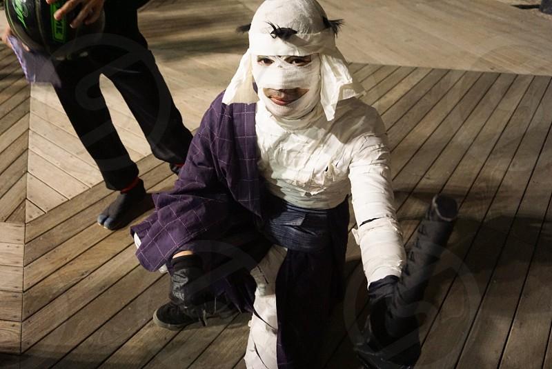Halloween costume Shishio Makoto photo