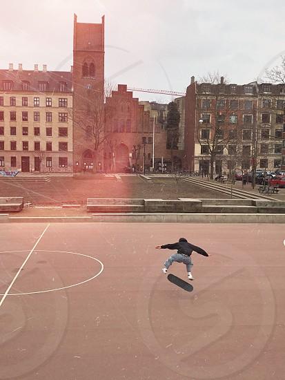 Skating in Copenhagen photo