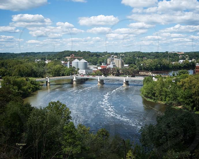 """Y"" Bridge Zanesville Ohio photo"