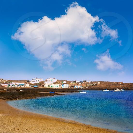 Majanicho Fuerteventura at Canary Islands of Spain photo