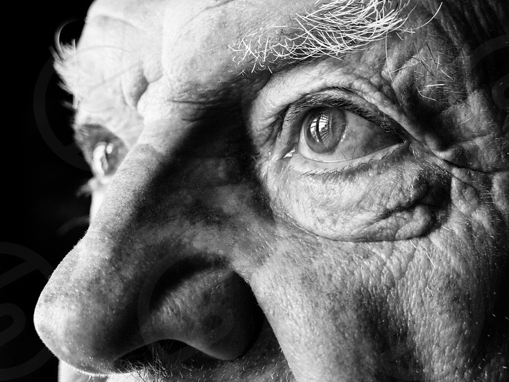 the window through an old mans eyes photo