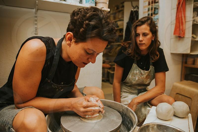 ceramic handcraft workshop photo