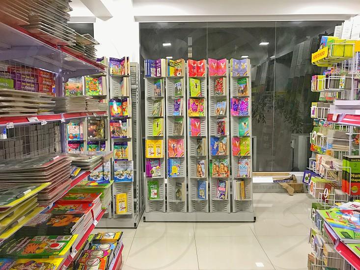 Shop book stationary bookshop office  photo