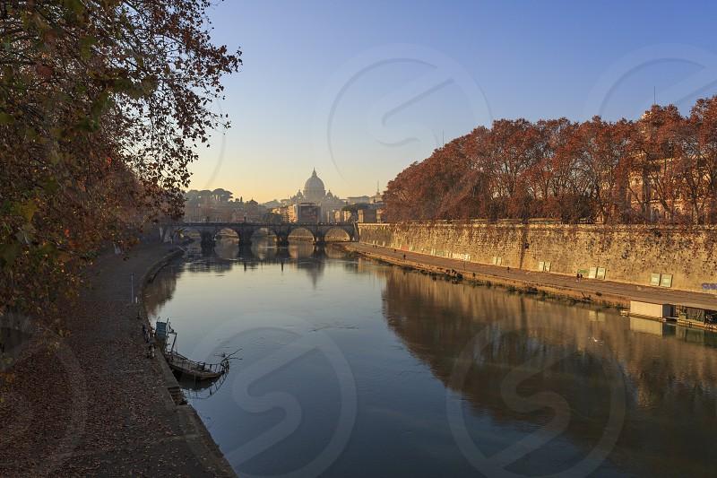 Rome Saint Peter Tevere Teber photo