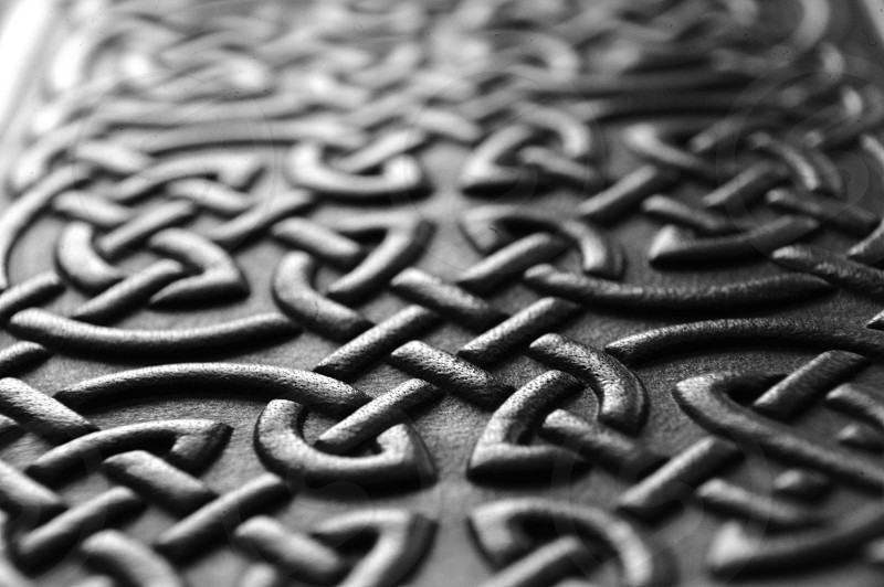 Celtic Knotted Leather photo