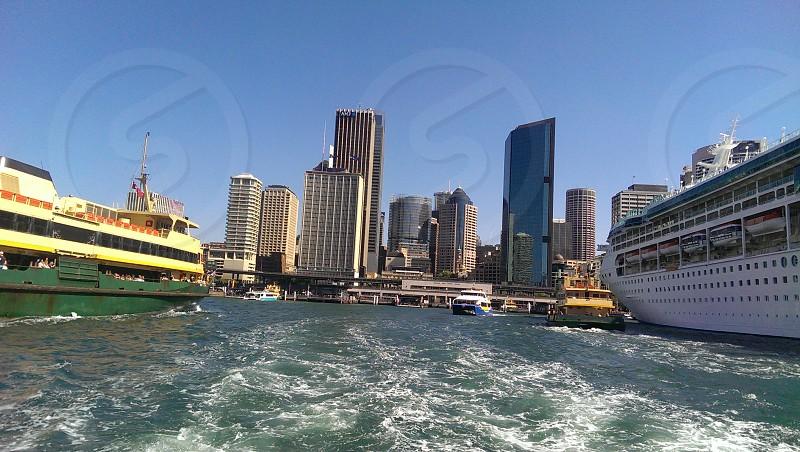 Sydney Travel Cruise Water Bay City photo