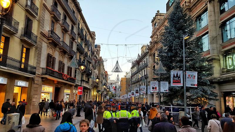 #lasrambLas #xmas #barcelona #spain photo