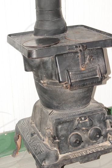 Pot bellied stove photo