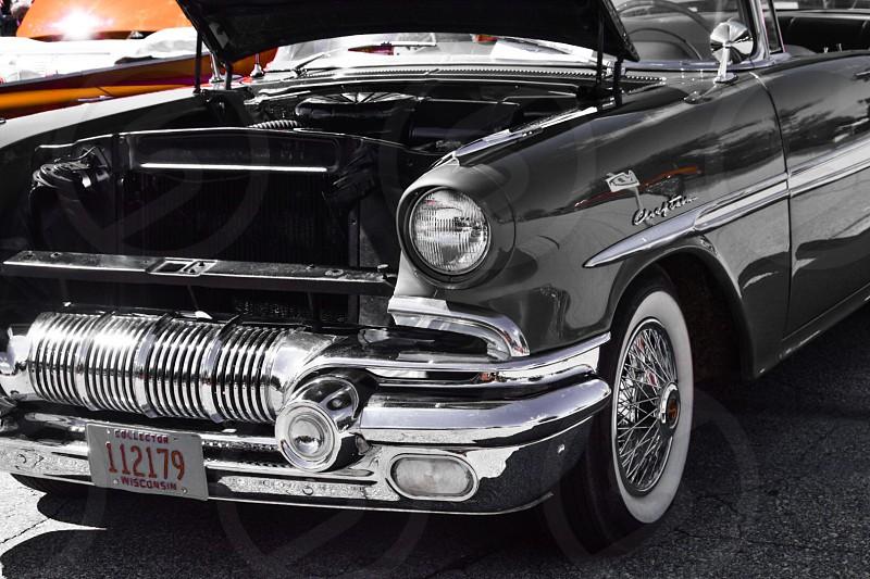 Vintage car license plate old vintage  photo