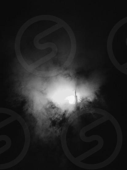 gray smoke photo