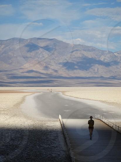 Walk in Death Valley photo