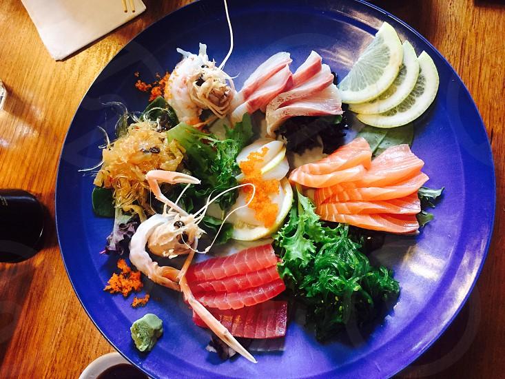 Sushi & Sashimi Japanese. photo