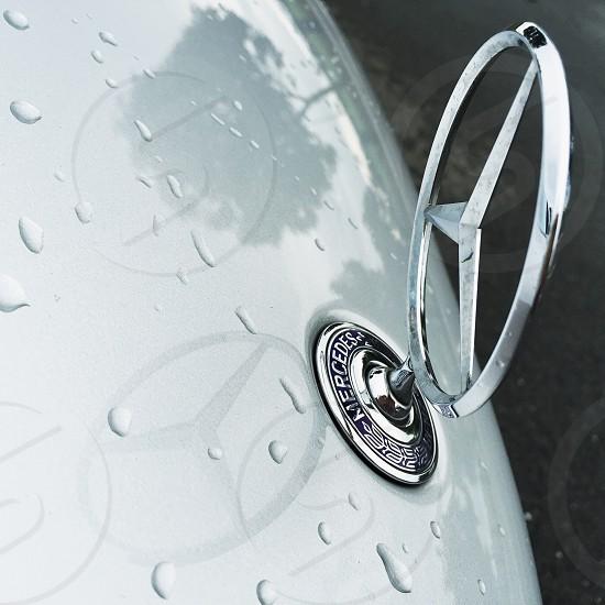 Mercedes benz logo photo