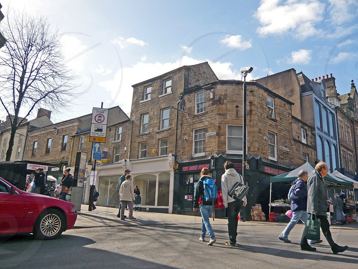 UK. ENGLAND. LANCASTER. Church Street. photo