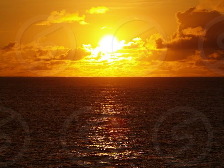 Hawaii Sunset photo
