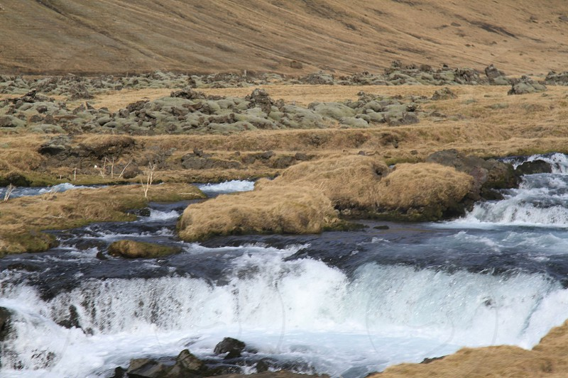 river waterfall photo