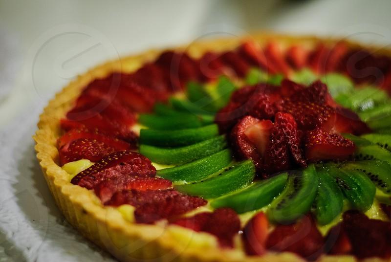 Strawberry Kiwi Pie photo