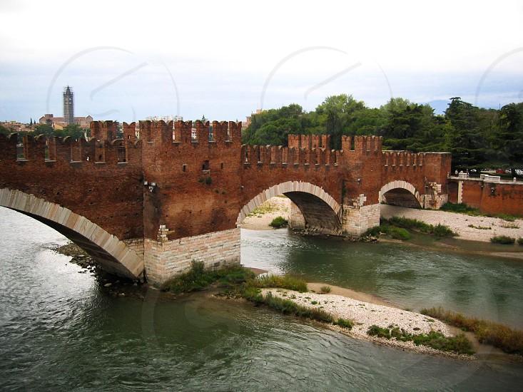 Verona Italy bridge medieval photo