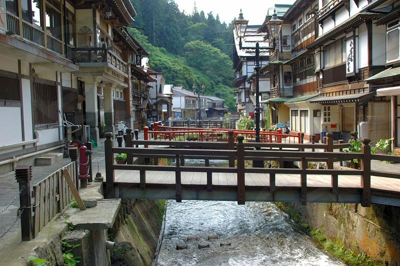 山形 銀山温泉 photo