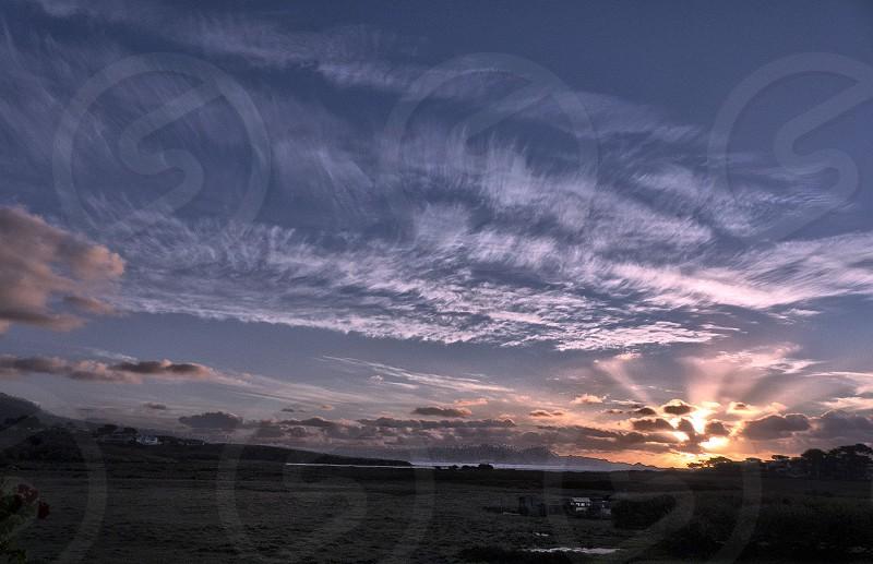 Sunset Pacific Coast photo