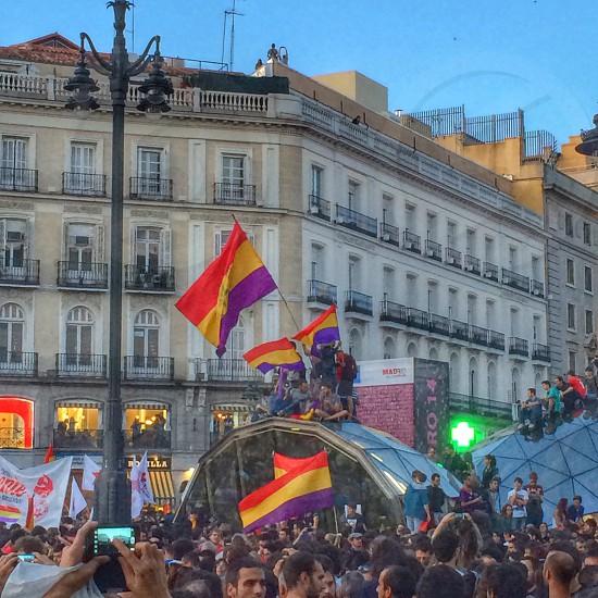 Madrid. Republican demostration.  photo
