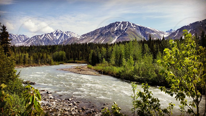 #talkeetna #river #alaska #adventure #nature #discovery #mountains #freedom photo