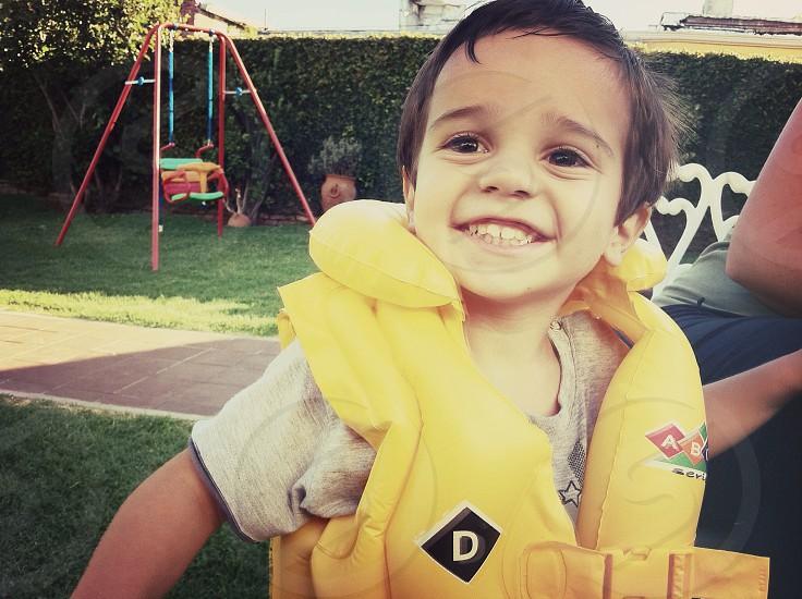 Little smile photo