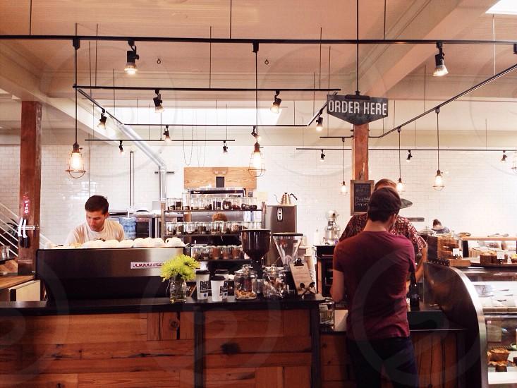Coffee shop vibes in Utah.  photo
