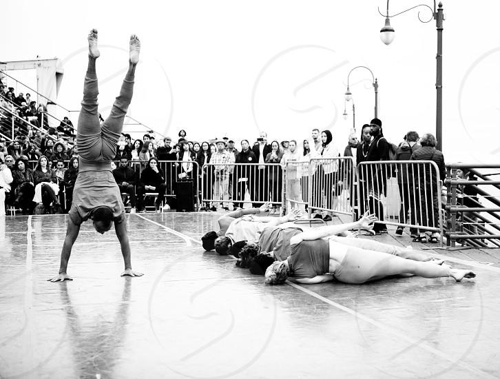 Santa Monica Pier concerts dancers  photo