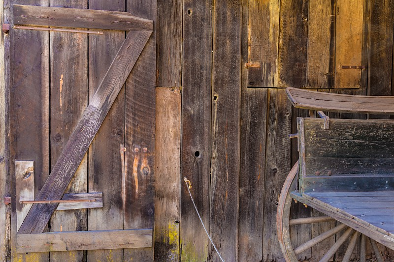 California old far west wooden textures in USA photo