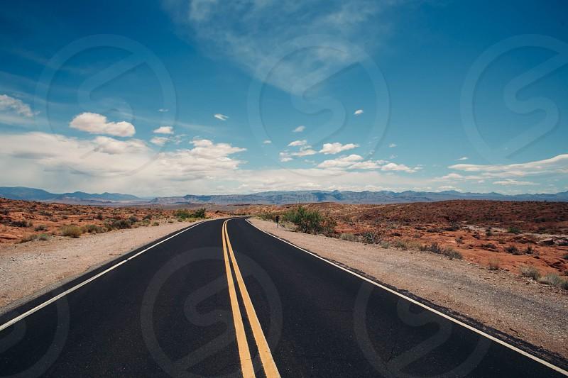 Nevada desert.  photo