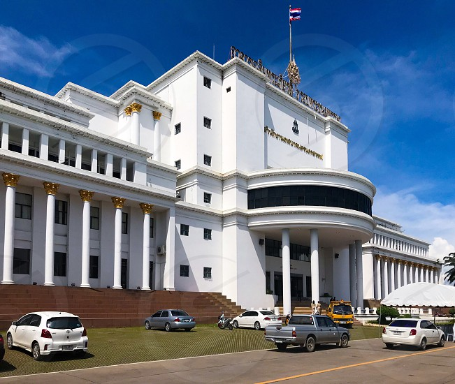 Nakhonsawan nakhon sawan city hall town downtown district business building office government central Thailand center photo