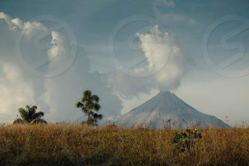 Volcano explosion  photo