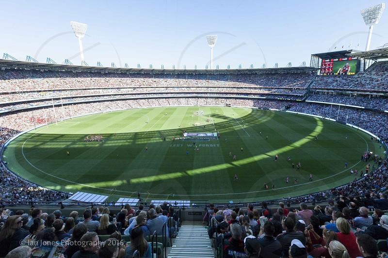 Melbourne MCG Melbourne Cricket Ground Australian Rules Football AFL sport grand final photo