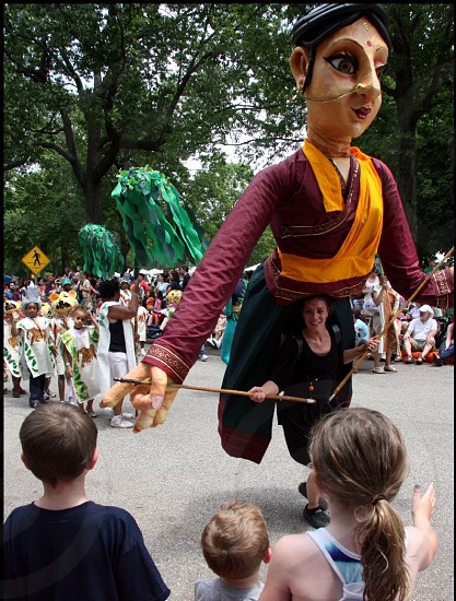 parade the circle carnival || cleveland ohio photo