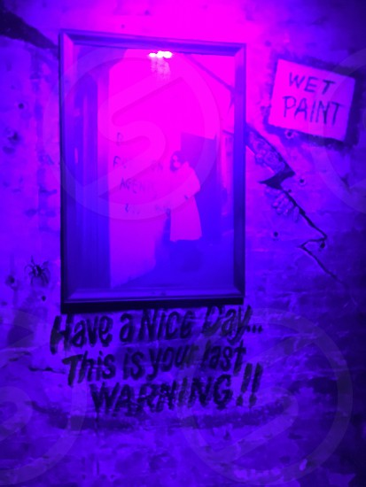 Ultraviolet purple Spy bar Milwaukee  photo