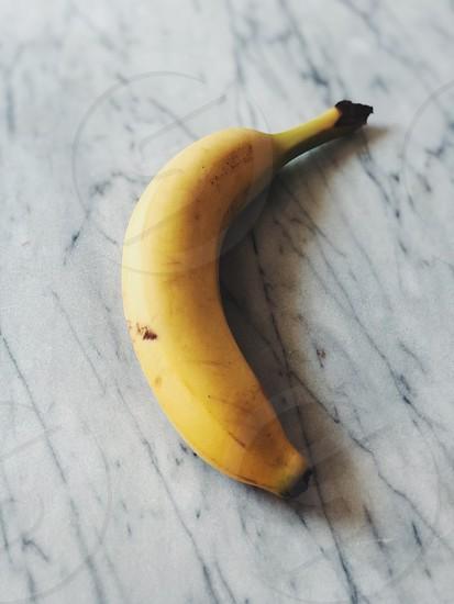 Food yellow banana marble table  photo