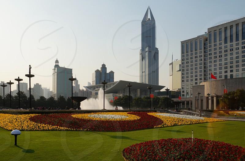 People's Square - Shanghai China photo
